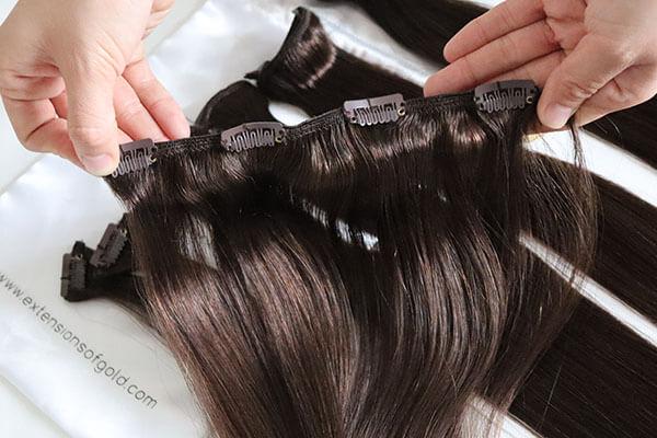 Regular Clip In Hair Extensions