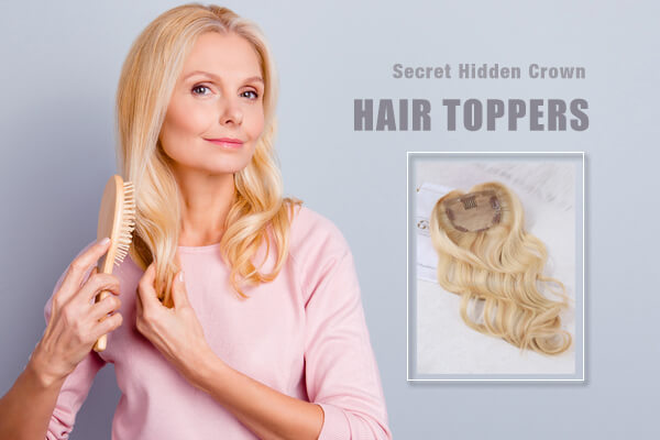 Mid Volume Human Hair Toppers