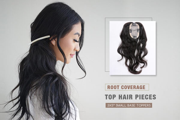 Light Volume Human Hair Toppers