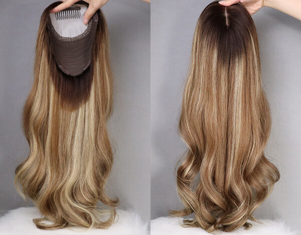 Human Hair Toppers C081401
