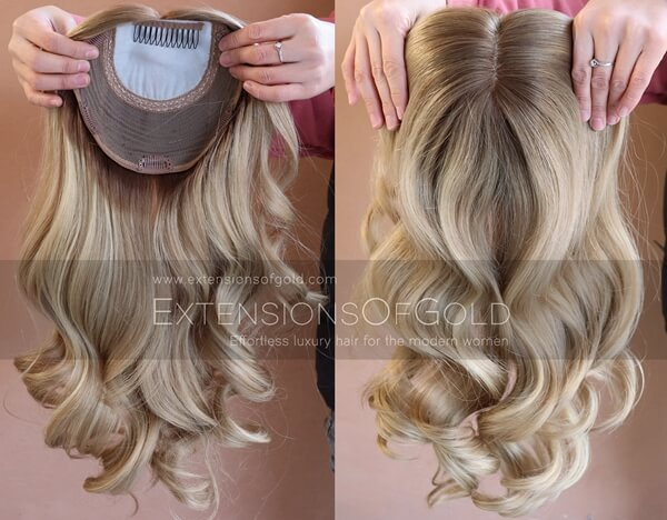 Human Hair Toppers C121805