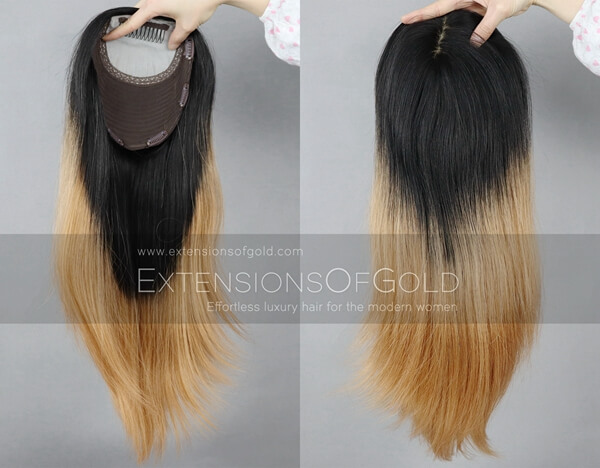 Human Hair Toppers D020302