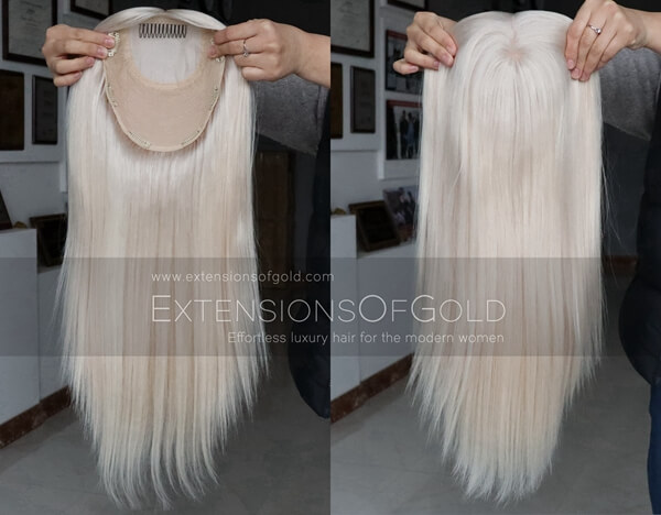 Human Hair Toppers D022502