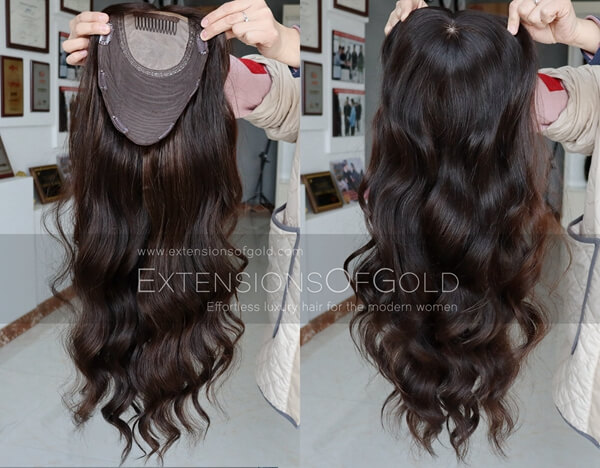 Human Hair Toppers D031201