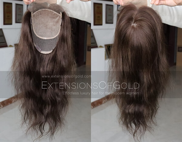 Human Hair Toppers D031401